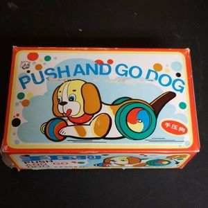 Push and go dog